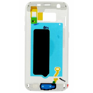 Samsung G930F Galaxy S7 Front Cover Frame, Wit, GH96-09788D