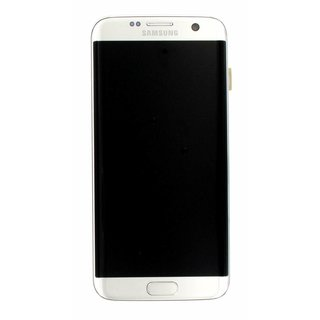 Samsung G935F Galaxy S7 Edge LCD Display Modul, Silver, GH97-18533B;GH97-18767B
