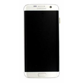 Samsung G935F Galaxy S7 Edge LCD Display Module, Silver, GH97-18533B;GH97-18767B