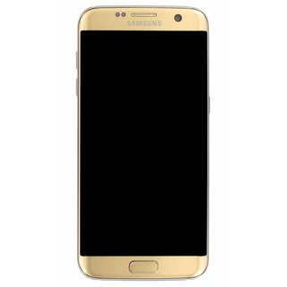 Samsung G935F Galaxy S7 Edge LCD Display Modul, Gold, GH97-18533C