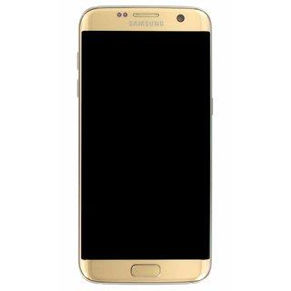 Samsung G935F Galaxy S7 Edge LCD Display Module, Gold, GH97-18533C