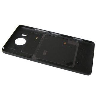 Microsoft Lumia 950 Achterbehuizing, Zwart, 00814D9