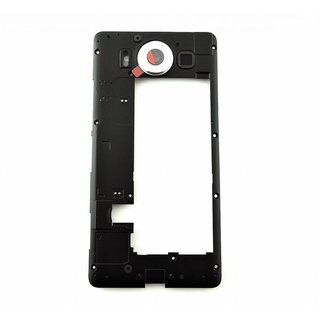 Microsoft Lumia 950 Middenbehuizing, Zwart, 00814G6