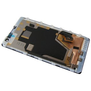 Nokia Lumia 1020 LCD Display Modul, Schwarz, 00810P0