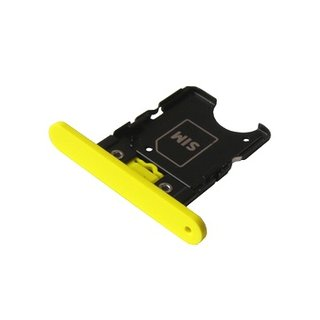 Nokia Lumia 1020 Simkarten Halter, Gelb, 0269C76
