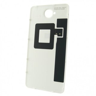 Microsoft Lumia 650 Battery Cover, White, 02511B1