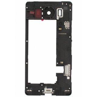 Microsoft Lumia 950 Mittel Gehäuse, Schwarz, 00814G6