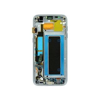 Samsung G935F Galaxy S7 Edge LCD Display Modul, Schwarz, GH97-18533A