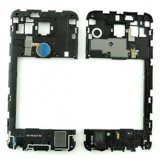 LG H791 Nexus 5X Mittel Gehäuse, Schwarz, ACQ88433712, Black Phone