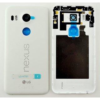 LG H791 Nexus 5X Akkudeckel , Weiß, ACQ88434811