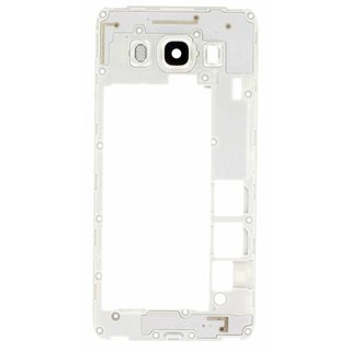 Samsung J510F Galaxy J5 2016 Middle Cover, White, GH98-39490C