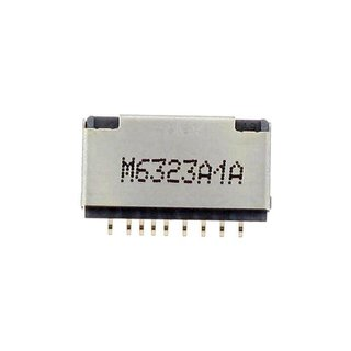 Samsung J510F Galaxy J5 2016 MicroSD kaartlezer connector, 3709-001899