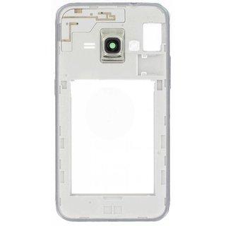 Samsung J120F Galaxy J1 2016 Middenbehuizing, Zwart, GH98-38929C
