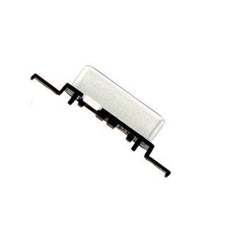Samsung J120F Galaxy J1 2016 Einschalt Knopf, Silber, GH64-05418A