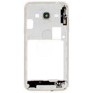 Samsung J320F Galaxy J3 2016 Middle Cover, Gold, GH98-39054B