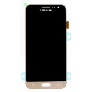 Samsung J320F Galaxy J3 2016 LCD Display Modul, Gold, GH97-18414B