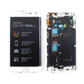 Samsung N915F Galaxy Note Edge LCD Display Modul, Weiß, GH97-16636B