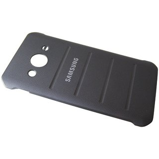Samsung G388F Galaxy Xcover 3 Battery Cover, Chrome Silver, GH98-36285A