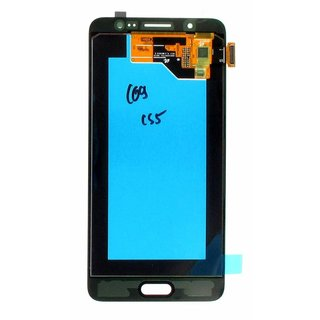 Samsung J510F Galaxy J5 2016 LCD Display Module, Black, GH97-18792B
