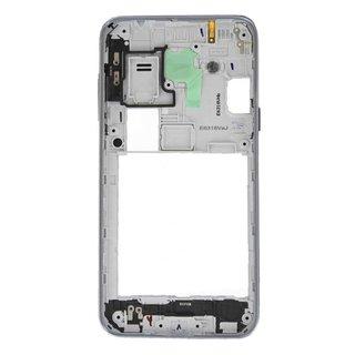 Samsung J320F Galaxy J3 2016 Middenbehuizing, Zwart, GH98-39054C