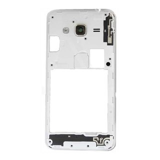 Samsung J320F Galaxy J3 2016 Middle Cover, White, GH98-39054A