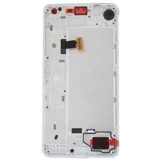 Microsoft Lumia 650 LCD Display Modul, Weiß, 00814H6