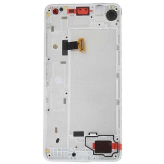 Microsoft Lumia 650 LCD Display Module, White, 00814H6