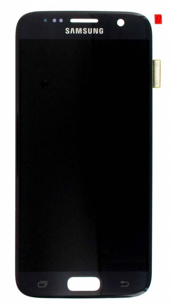 Samsung LCD Display Module G930F Galaxy S7, Black, GH97-18523A