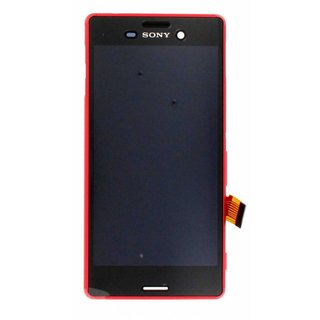 Sony Xperia M4 Aqua E2303 LCD Display Module, Coral, 124TUL0012A
