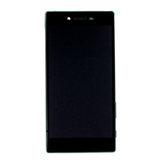 Sony Xperia Z5 Premium E6853 LCD Display Modul, Chrom Silber, 1299-0614