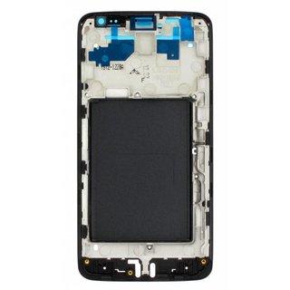 LG D405 L90 Front Cover Frame, Zwart, ACQ86911602, ACQ87428201