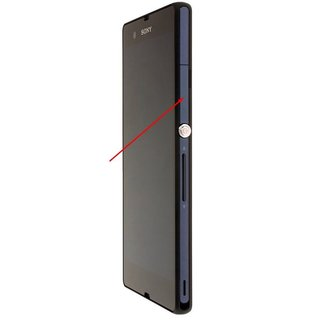 Sony Xperia Z L36H C6603 SIM Card Cover Violet 1272-4979