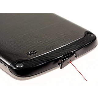 Samsung I9295 Galaxy S4 Active USB Cover, Gray, GH63-03870A;GH98-30118A