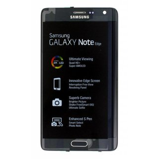 Samsung N915F Galaxy Note Edge LCD Display Module, Black, GH97-16636A