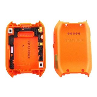 Samsung V700 Galaxy Gear Middle Cover, Orange, GH98-30637D