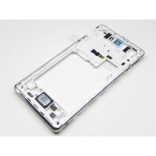 Sony Xperia V LT25i Middle Cover, White, 1268-4326