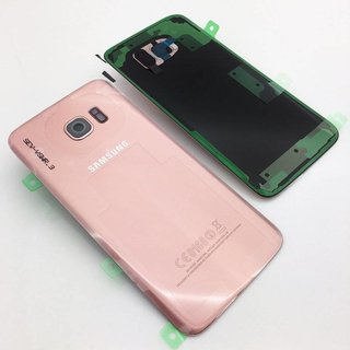 Samsung G935F Galaxy S7 Edge Battery Cover, Pink Gold, GH82-11346E