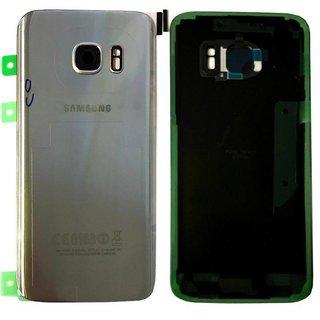 Samsung G930F Galaxy S7 Akkudeckel , Silber, GH82-11384B