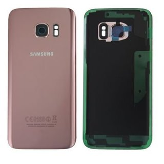 Samsung G930F Galaxy S7 Battery Cover, Pink Gold, GH82-11384E