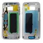 Samsung Mittel Gehäuse G930F Galaxy S7, Silber, GH96-09788B
