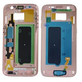 Samsung G930F Galaxy S7 Middle Cover, Pink Gold, GH96-09788E