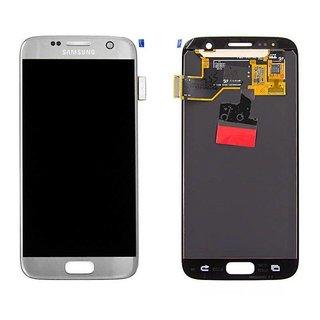 Samsung G930F Galaxy S7 LCD Display Modul, Silber, GH97-18523B