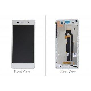 Sony Xperia E5 F3311 LCD Display Modul, Weiß, 78PA4100010