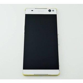 Sony Xperia C5 Ultra E5553 LCD Display Modul, Weiß, A/8CS-58880-0002