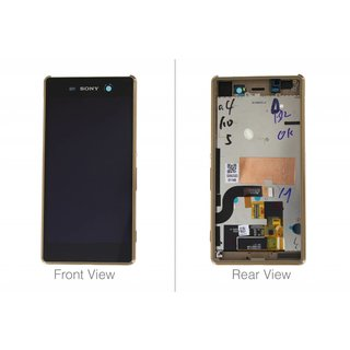Sony Xperia M5 E5603 LCD Display Modul, Gold, 191HLY0006B-GCS