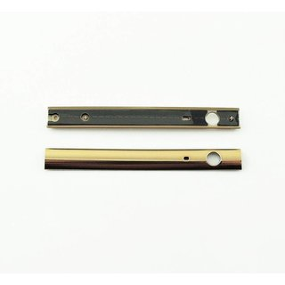 Sony Xperia M5 E5603 Dekoration Cover, Gold, 460HLY30Z0A, For Top Side