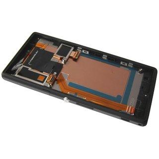 Sony Xperia M2 Aqua D2403 LCD Display Modul, Schwarz, 78P7550002N