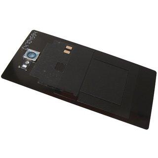 Sony Xperia M2 Aqua D2403 Battery Cover, Black, 78P7500002N