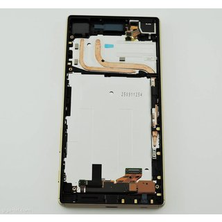 Sony Xperia Z5 Dual E6633 LCD Display Modul, Gold, 1298-5922