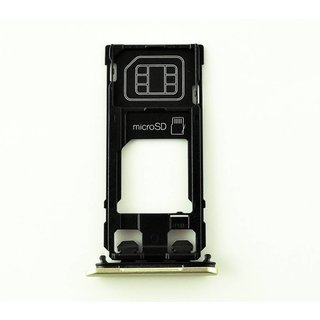 Sony Xperia X F5121 Simkarten Halter, Lime Gold, 1302-4832